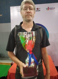 Nigel Richards WESPAC 2019 champion